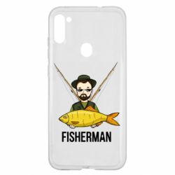 Чохол для Samsung A11/M11 Fisherman and fish