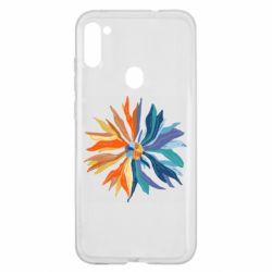 Чохол для Samsung A11/M11 Flower coat of arms of Ukraine