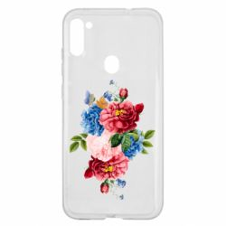 Чохол для Samsung A11/M11 Flowers and butterfly