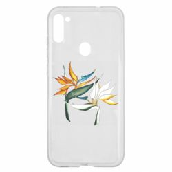 Чехол для Samsung A11/M11 Flowers art painting