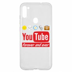 Чохол для Samsung A11/M11 Forever and ever emoji's life youtube