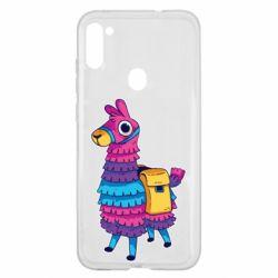 Чехол для Samsung A11/M11 Fortnite colored llama