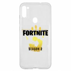 Чехол для Samsung A11/M11 Fortnite season 2 gold