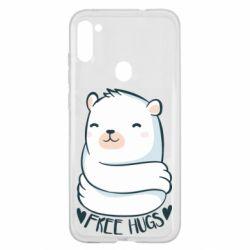 Чохол для Samsung A11/M11 Free hugs bear