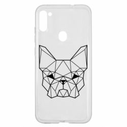 Чехол для Samsung A11/M11 French Bulldog Art