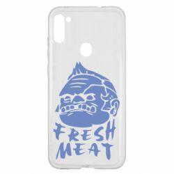 Чехол для Samsung A11/M11 Fresh Meat Pudge
