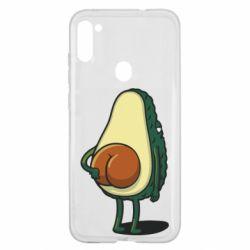 Чохол для Samsung A11/M11 Funny avocado