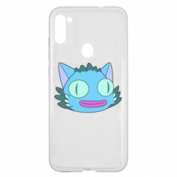 Чехол для Samsung A11/M11 Funny cat from Rick and Morty season 4