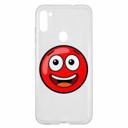 Чохол для Samsung A11/M11 Funny Red Ball