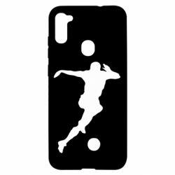 Чехол для Samsung A11/M11 Футбол
