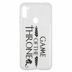Чохол для Samsung A11/M11 Game of thrones stylized logo