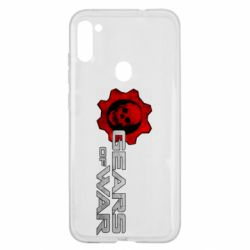 Чехол для Samsung A11/M11 Gears of War logotype