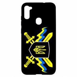 Чехол для Samsung A11/M11 Герб та мечи