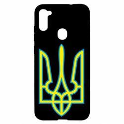 Чохол для Samsung A11/M11 Герб України (двокольоровий)