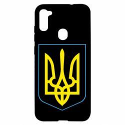 Чохол для Samsung A11/M11 Герб України з рамкою