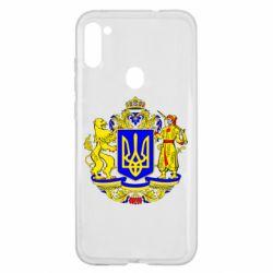 Чехол для Samsung A11/M11 Герб Украины полноцветный