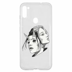 Чехол для Samsung A11/M11 Girl and demon