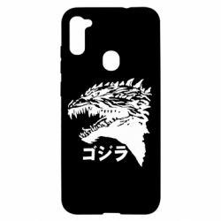 Чохол для Samsung A11/M11 Godzilla in japanese