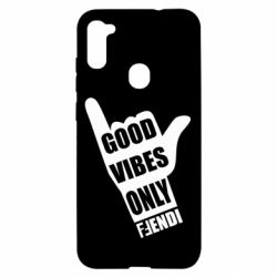 Чохол для Samsung A11/M11 Good vibes only Fendi