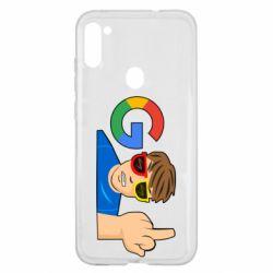 Чохол для Samsung A11/M11 Google guy Fuck You