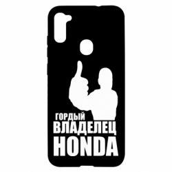 Чохол для Samsung A11/M11 Гордий власник HONDA