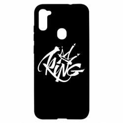 Чехол для Samsung A11/M11 Graffiti king