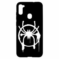 Чохол для Samsung A11/M11 Graffiti Spider Man Logo