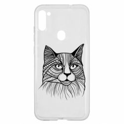 Чохол для Samsung A11/M11 Graphic cat