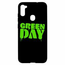 Чехол для Samsung A11/M11 Green Day