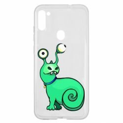 Чехол для Samsung A11/M11 Green monster snail