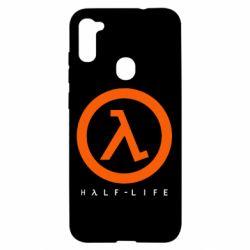 Чехол для Samsung A11/M11 Half-life logotype