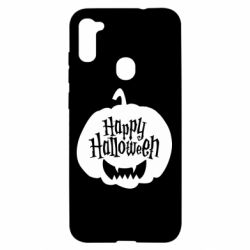 Чохол для Samsung A11/M11 Happy halloween smile
