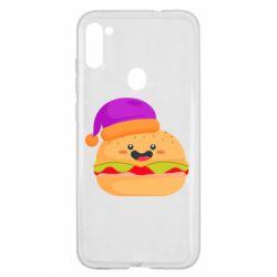 Чехол для Samsung A11/M11 Happy hamburger