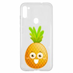 Чехол для Samsung A11/M11 Happy pineapple