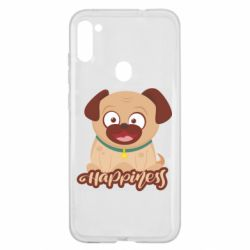 Чехол для Samsung A11/M11 Happy pug