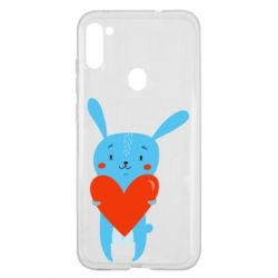 Чохол для Samsung A11/M11 Hare with a heart