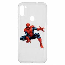 Чехол для Samsung A11/M11 Hero Spiderman