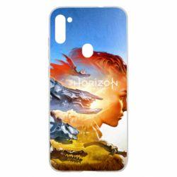 Чехол для Samsung A11/M11 Horizon Zero Dawn art