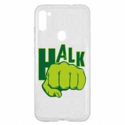 Чехол для Samsung A11/M11 Hulk fist