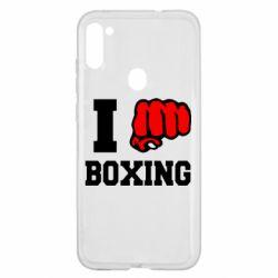 Чехол для Samsung A11/M11 I love boxing