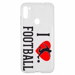 Чохол для Samsung A11/M11 I love football
