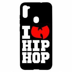 Чехол для Samsung A11/M11 I love Hip-hop Wu-Tang