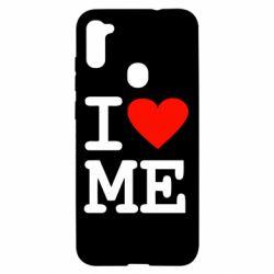 Чехол для Samsung A11/M11 I love ME