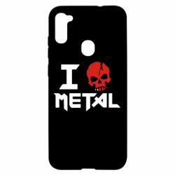 Чехол для Samsung A11/M11 I love metal