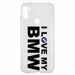 Чохол для Samsung A11/M11 I love my BMW