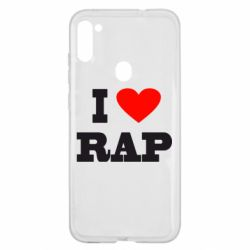 Чехол для Samsung A11/M11 I love rap