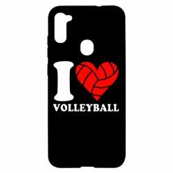 Чохол для Samsung A11/M11 I love volleyball