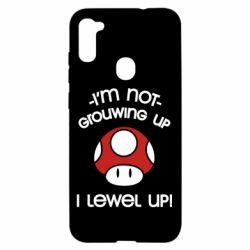 Чехол для Samsung A11/M11 I'm not growing up, i level up