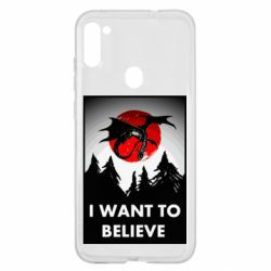 Чехол для Samsung A11/M11 I want to BELIEVE poster