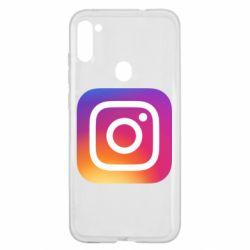 Чохол для Samsung A11/M11 Instagram Logo Gradient